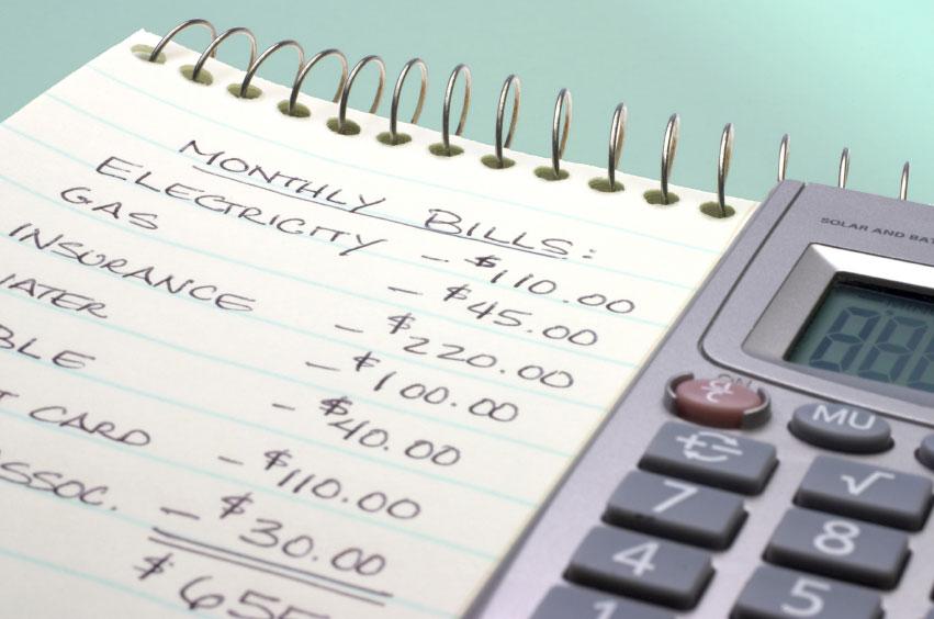 monthly bill calculator